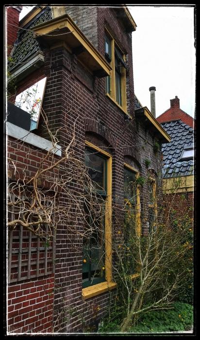 Midden in de stad Groningen