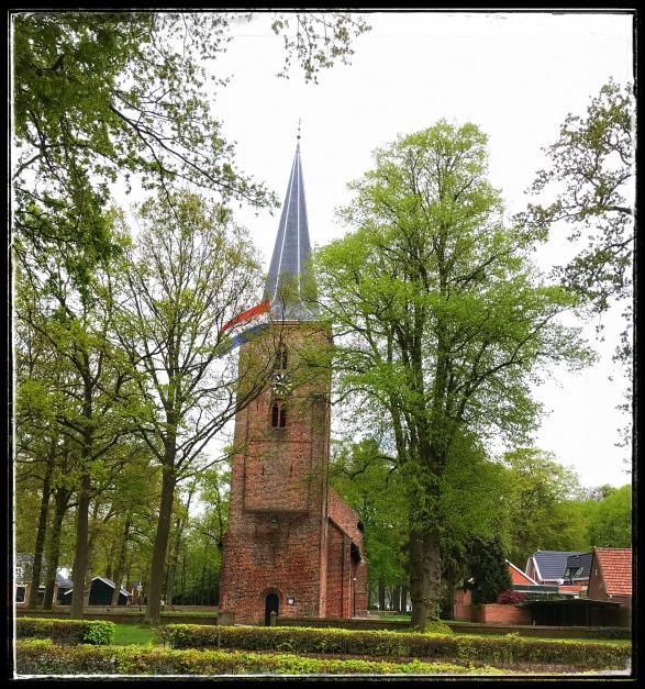 De kerk bij Zuidlaren